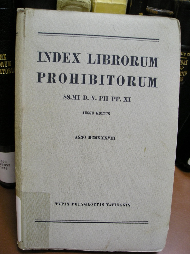 The book Index Prohibotorum Librorum photo 6
